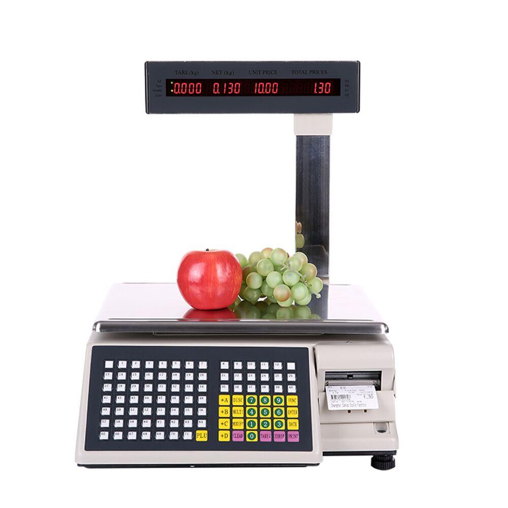 Frete grátis comercial tm-ad escala de scanner eletrônico pesando impressão de código de barras de impressão de etiquetas de escala