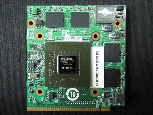 Ordenador portátil tarjeta vga nVIDIA 9500M 9500GT GS 512MB MXM II tarjeta de vídeo VG.8PG06.005 G84-625-A2 para ACER 100% probado completamente