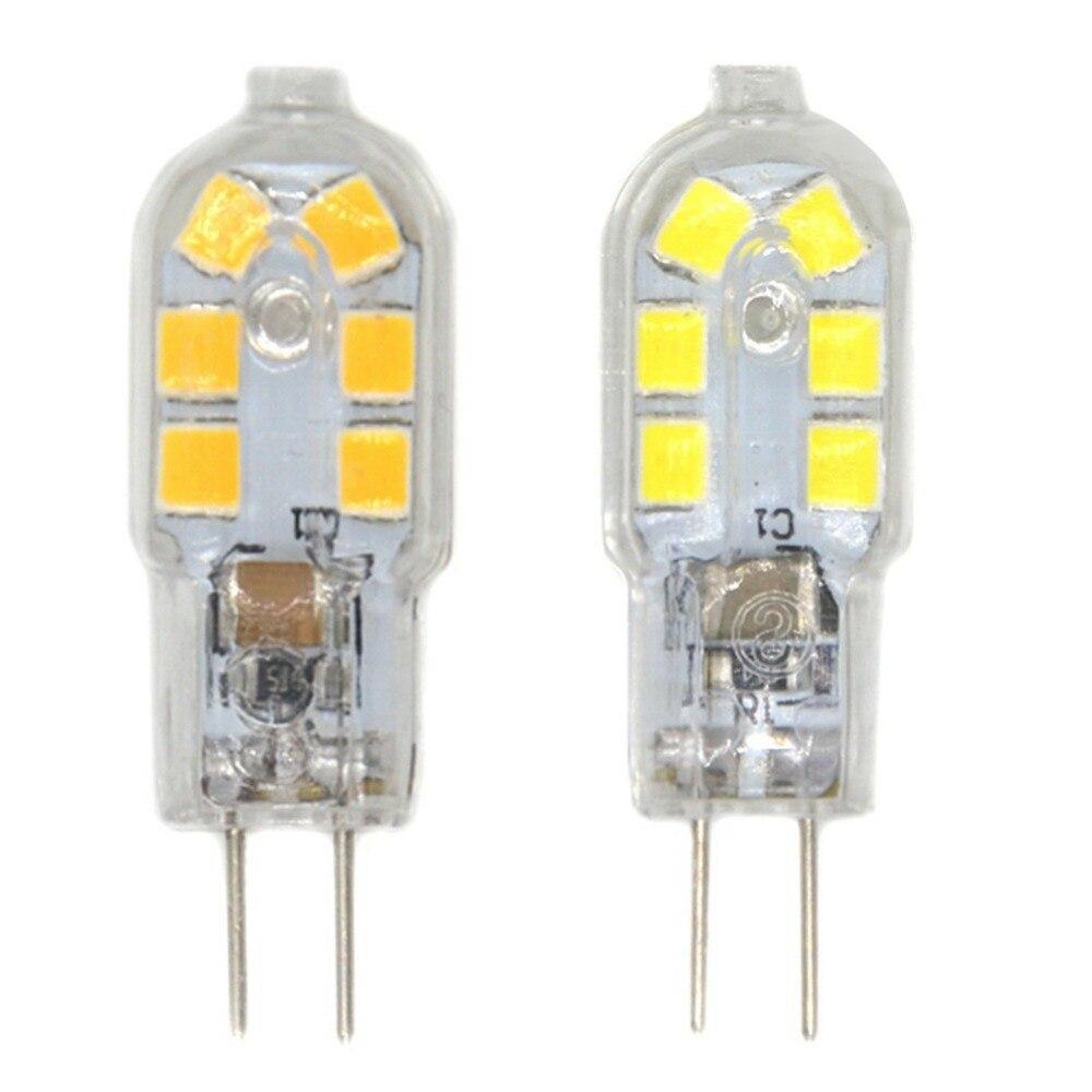 1.5W G4 LED Bi-pin Lights 12 SMD 2835 250 lm Warm White Cold White Decorative DC 12 V 10pcs  Mini LED Bulb Replace Halogen Lamps 10pcs lot 2 5w led bi pin lights t 33 smd 2835 210 lm warm white white ac 220 240 v g9