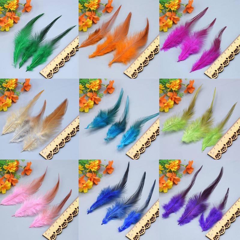 50 Uds. Plumas de faisán mullidas y bonitas de alta calidad. Se puede utilizar para varias decoraciones DIY