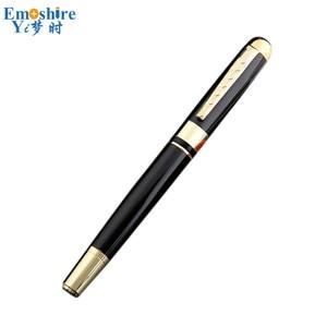 Metal Ballpoint Pen Luxury Roller Ball Pen Unique Design Stationery for Business Meeting Gift Custom P674