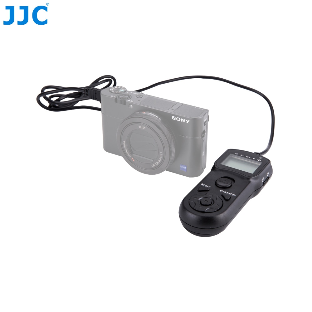 JJC-Control remoto con temporizador para cámara SONY mando a distancia para SONY...