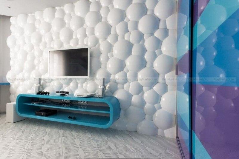 Nuevo Modelo de paneles de pared decorativos, formas moldes de plástico 3D, tamaño 500x500x40mm, modelo 2017 Año