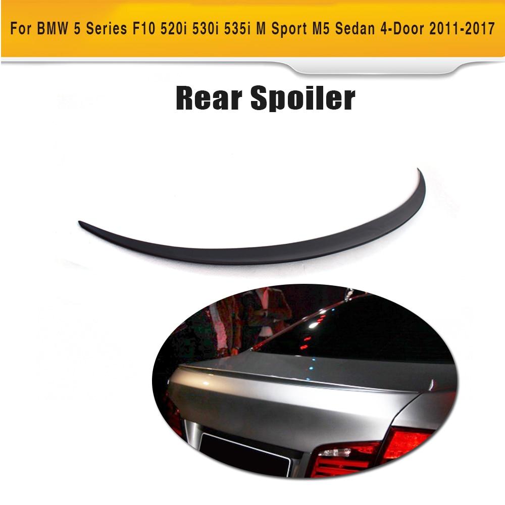 Auto Trunk Lip Spoiler ABS Primer Für BMW 5 Series F10 520i 530i 535i M Sport M5 Limousine 4- tür 2011-2017