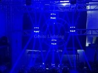 5 degree narrow beam output moving head 9pcs12w led moving head stage rgbw 4in1 beam light