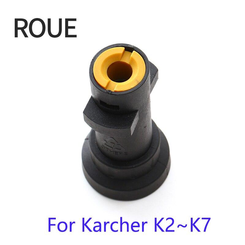 Nuevo adaptador de bayoneta ROUE de plástico a presión de alta calidad Gs para pistola Karcher y transferencia de hilo G1/4 2017 de tiempo limitado