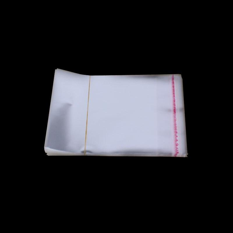100 piezas 9*12 cm auto-adhesivo del OPP bolsas de almacenamiento de polvo bolsa de plástico envío gratis transpirable alta calidad celofán 2017