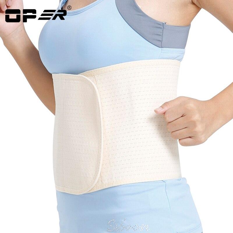 OPER Apoio Lombar Cinto Cintura Costela Gaiola Proteger de Volta Cinta postura corrector Cinto Slim Fit ajustável Aptidão Forma remodelação