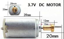 Carga de motor para cortadora de pelo eléctrica tijeras 3,7 V motor