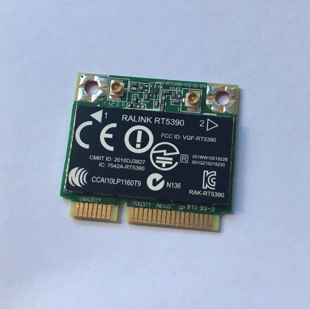 SSEA оптовая продажа беспроводная карта для HP TPN Q110 Q68C Q72C RT5390 Half Mini PCI E 802 11 b/g/n 300Mbps