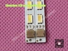 2 pièce/lot 32 pouces côté dans le type LCD tv LED lumières S LED _ 2011cb320_40 40 LED 3 V lampe perle HV320WXC-300 1 pièce = 360mm