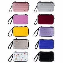 Mini Luggage Makeup Bag Lady Cosmetic Handbag Makeup Pouch Toiletry Organizer Bag Toiletry Organizer