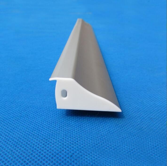 Venta al por mayor, perfil de aluminio para montar en la pared, caja de luz de tela de tensión led, pantalla de exposición, 2 m/unids, 100 m/lote