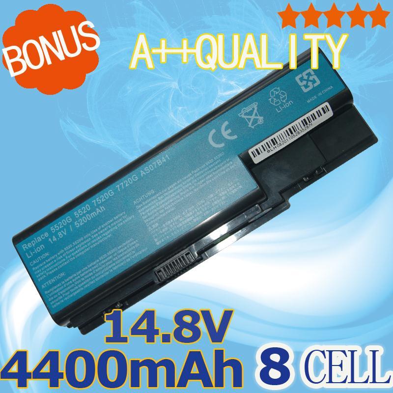 8 celdas AS07B42 AS07B51 AS07B52 batería para AcereMachines E510 E520 G420 G520 G620 G720