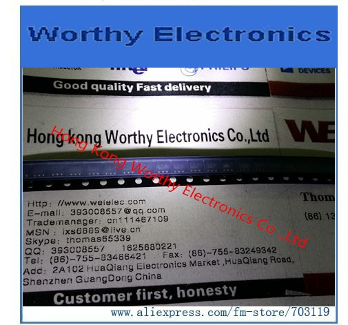 Envío gratis 10 unids/lote HMC545ETR HMC545E HMC545 IC MMIC GAAS de SW SPDT SOT26