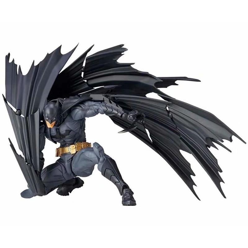 Figurine Batman DC Comics ligue de Justice super-héros Revoltech figurine daction Batman modèle à collectionner jouet