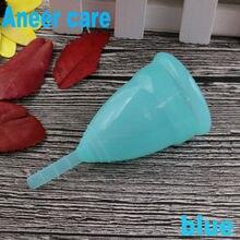 50 pcs/lot coupe menstruelle coupe menstruelle copa menstruelle collecteur menstruelle coupe menstruelle copa mestrual Aneercare