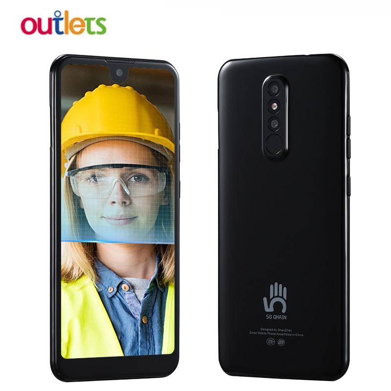 Móvil 4G con 3GB RAM, 32GB ROM, pantalla de gota de agua de 6,1 pulgadas, CPU MT6737, so Android 6,0, Tarjeta Sim Dual, soporte FDD LTE