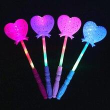 Bâtonnets lumineux ajouré amour   Baguette magique, bâtonnets lumineux pour fête, produits chimiques suspendus pour Halloween, décoration de mariage
