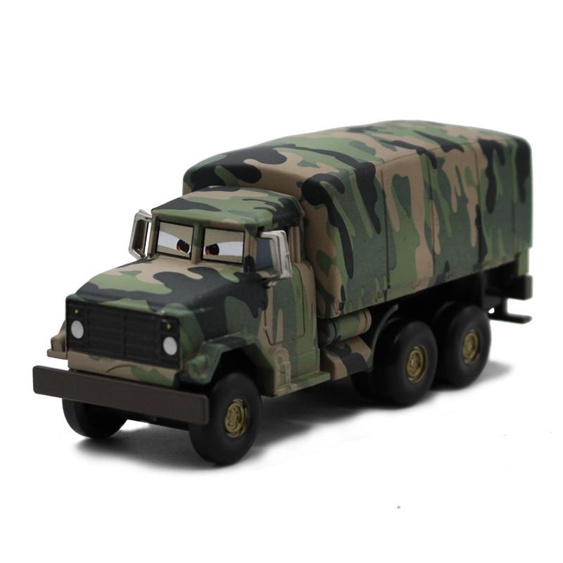 Disney pixar carros 2 andy gearsdale metal veículo militar diecast permitir modelo de carro brinquedo para crianças presente 155 marca brinquedos novo
