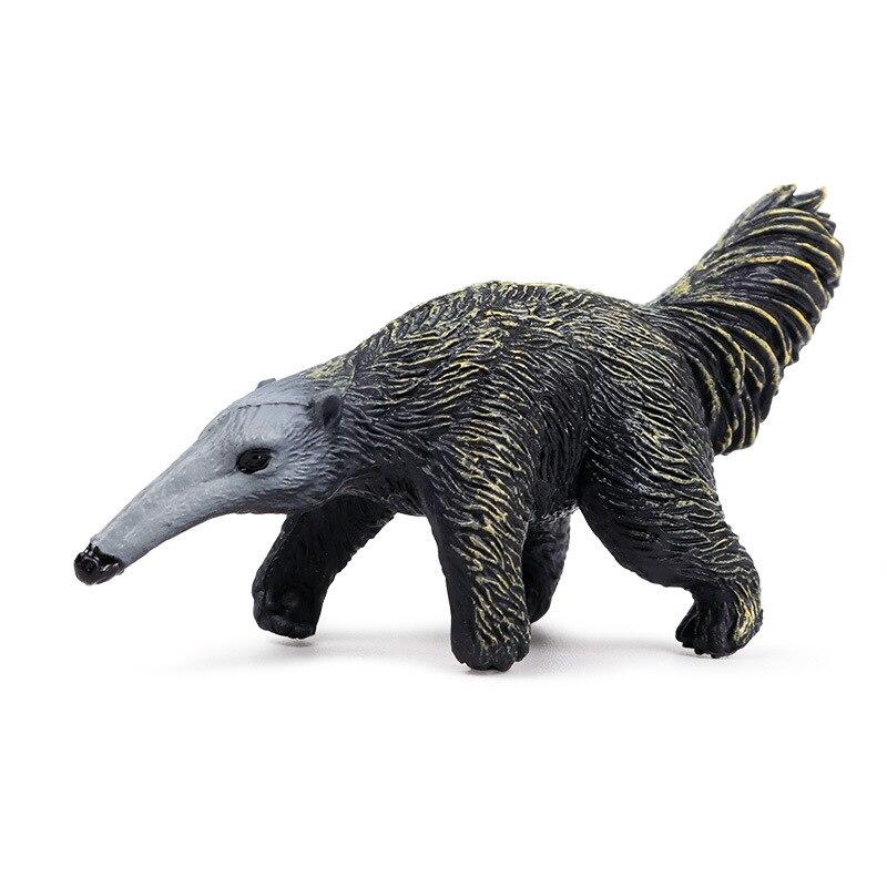 Figuras de acción de animales salvajes en el bosque, figuras en miniatura de PVC, Linda colección de juguetes educativos para niños, regalo