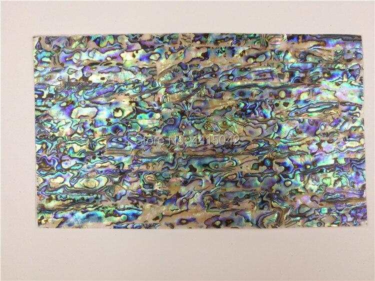 AAA klasa abalone paua shell mozaika z masy perłowej laminat do drewna i instrumentów muzycznych wkładka 10 sztuk/partia 0.45mm grubości