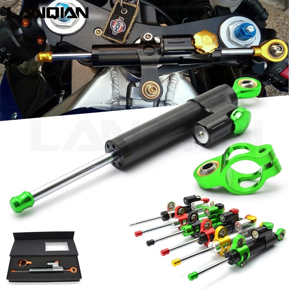 مثبت توجيه الدراجة النارية ، تحكم خطي للسلامة ، لهوندا nc750x cbr 600 rr CB650R Cb650F XL1000V VARADERO
