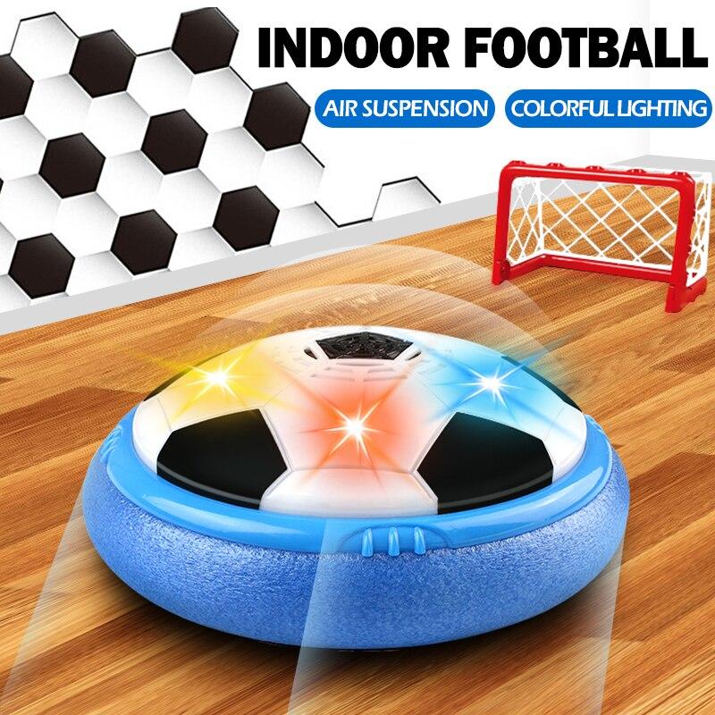 Luces LED de 21,5 cm/8,4 pulgadas, juguetes de pelota de fútbol para interior, discos de deslizamiento de fútbol para exteriores, juguete para regalo para niños