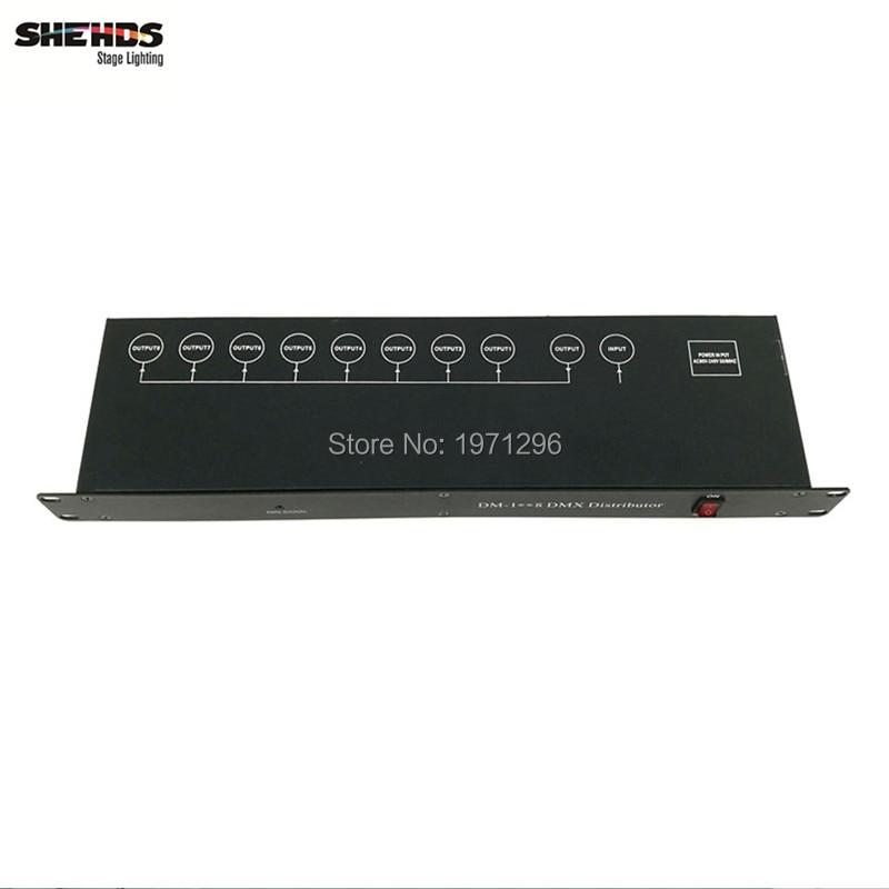 Контроллер сценического освещения, разделитель усилителя сигнала DMX512