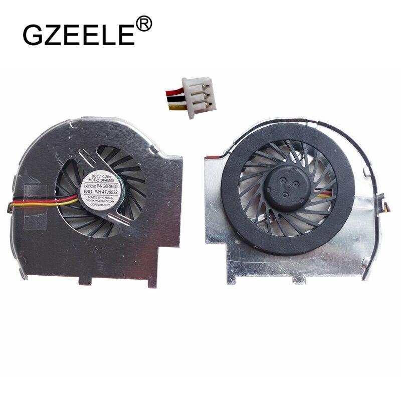 GZEELE New CPU Laptop Cooling Fan Cooler para IBM T60 T60p Laptops Computador Notebook Cooler Fãs Replacem Acessórios Mais Frias