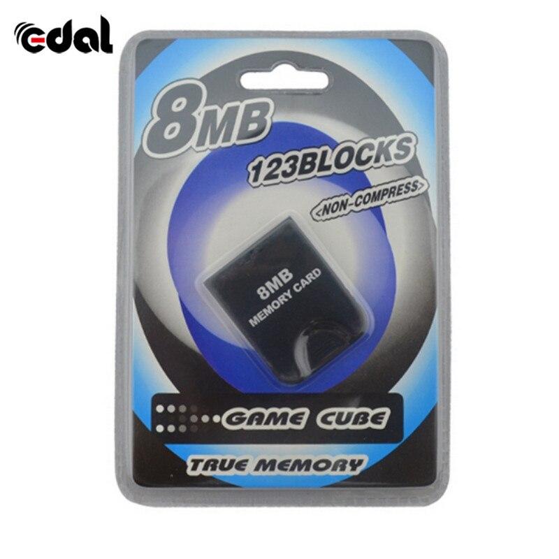 Карта памяти для Nintendo для GameCube консоли 4MB 8MB 16MB 32MB 64MB 128MB