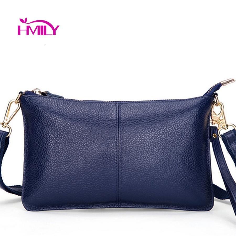 HMILY Donne Messenger Borse Delle Signore del Cuoio Genuino Modelli di Moda Borsa A Tracolla Dieci Colori Sacchetto di Sera delle Donne Alla Moda Mini Bag
