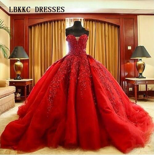 Бальное платье с блестками и кружевной аппликацией, длинное Тюлевое платье для свадьбы