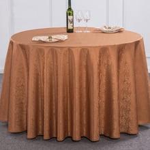 Couverture de Table carrée blanche en tissu Polyester   Couleur unie, couverture de Table ronde pour la salle à manger et salon, tissu de cuisine, stand de réception de mariage