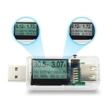 12 In 1 Usb Tester Dc Digital Voltmeter Voltage Current Meter Ammeter Detector Power Bank Charger Indicator Transparent Shell