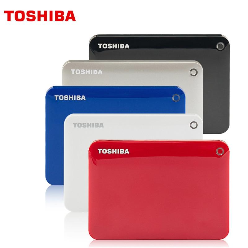 "TOSHIBA Canvio External Hard Drive 1TB 2TB HDD 2.5"" USB 3.0 Hard Drive HD externo Hard Disk disco duro externo For Laptop"