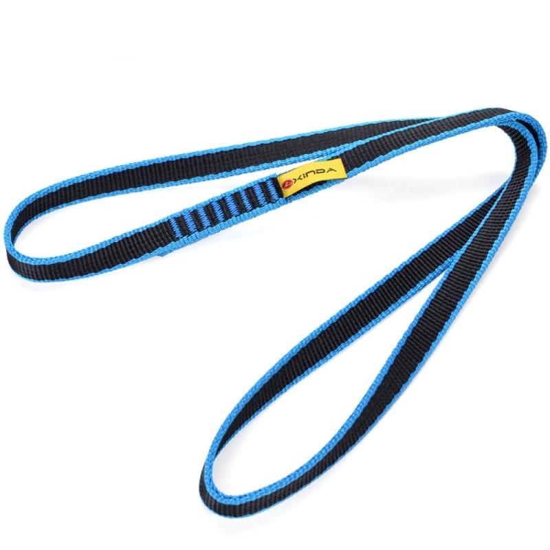 Protector de cuerda de escalada para Rock eslinga, CE / UIAA 22kN 60/80/120cm, correa de nailon para rodamientos, correa de refuerzo, accesorios de escalada