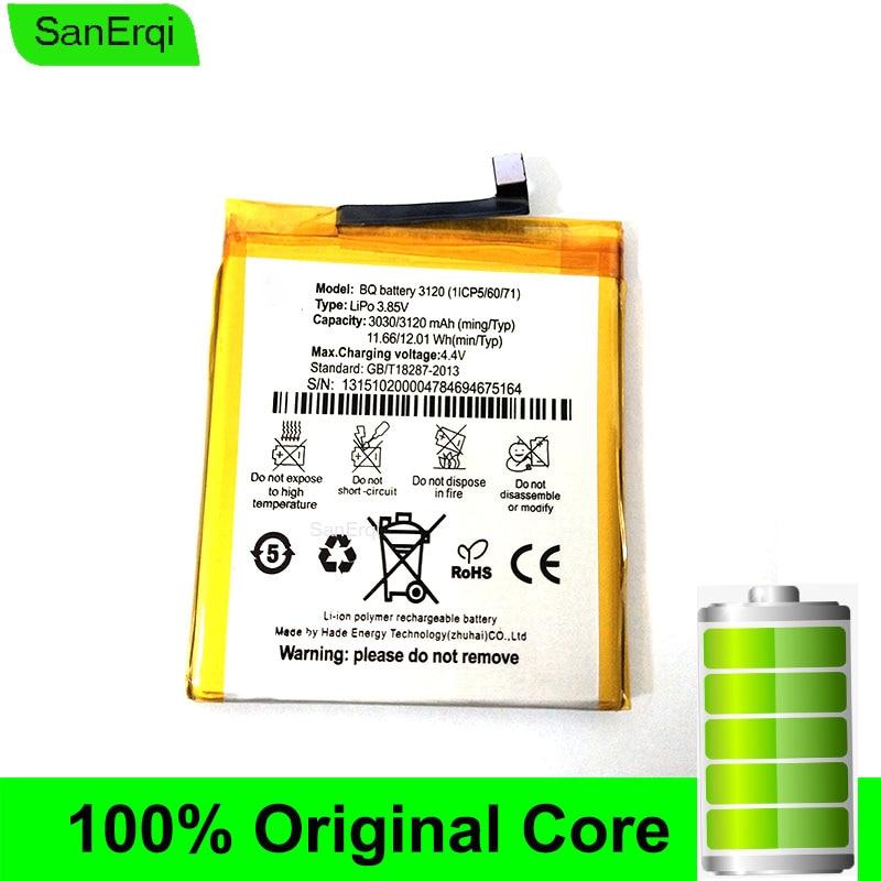 Batería Para BQ Aquaris M5, 3120(1ICP5/60/71), 3120mAh, SanErqi