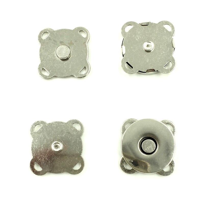 AliExpress - 10Pcs Magnetic Clasps Locks Plum Flower Shape Metal Buckles Closures Silver Tone Coin Purse Handbag 19x19mm