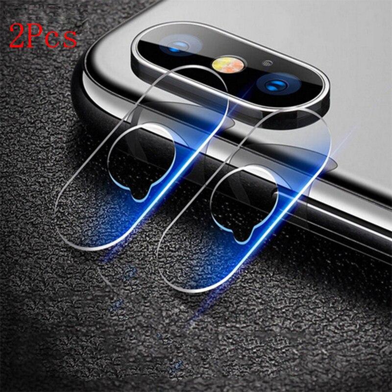 2PCS For iPhone X Camera Len Protector Soft Tempered Glass Film Protection Lens Glass For iPhonX Pro