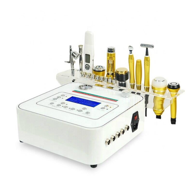 جهاز الميزوثيرابي الكهربائي 10 في 1 ، آلة شد الوجه متعددة الوظائف ، الميزوثيرابي ، الميزوثيرابي ، الماس ، التيار الجزئي
