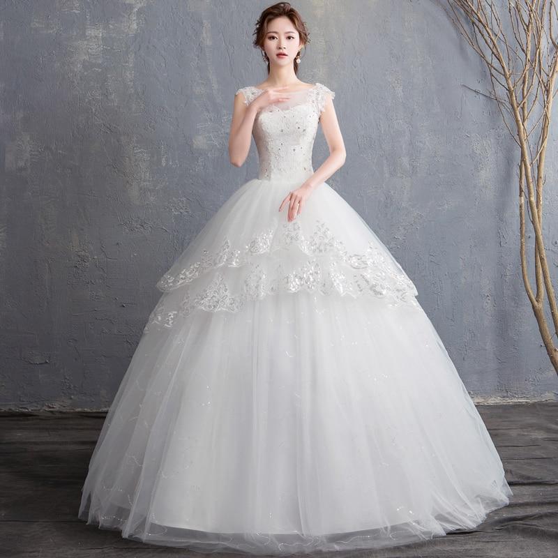 فستان زفاف أميرة الأحلام ، فستان زفاف ، فساتين زفاف برباط ، مجموعة جديدة 2019