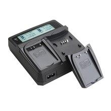 Cargador de batería para cámara LCD Udoli para Fujifilm NP60 NP120, BT3, S301, 1037,1137 para KODAK K5000, K5001 para NIKON EN-EL5 AA