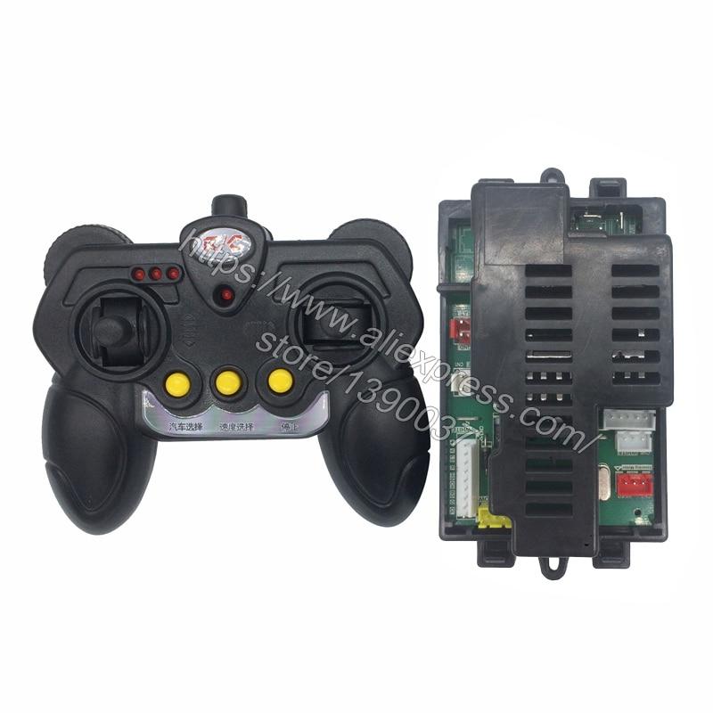 Control remoto y receptor bluetooth SX118 para coche eléctrico de niños, controlador bluetooth de 2,4G para coche de bebé