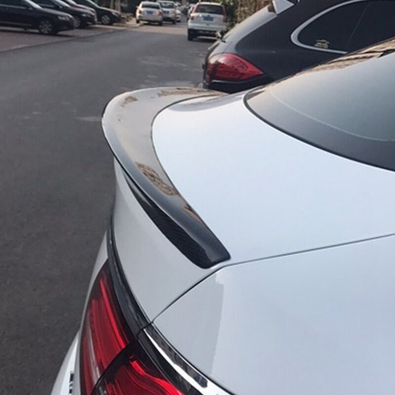 Para Mercedes gle coupe Spoiler Benz classe AMG fibra de carbono tronco spoiler traseiro W166 GLE63 gle GLE 300 400 saqueador 2016 2017 2018