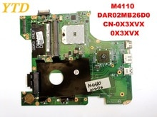Original para DELL M4110 laptop placa base M4110 DAR02MB26D0 CN-0X3XVX 0X3XVX probado buen envío gratis