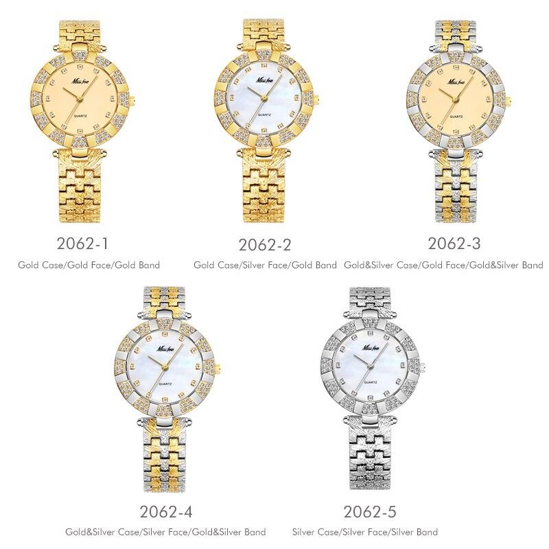MISSFOX Women Watch Luxury Brand Fashion Casual Ladies Gold China Woman Watches Japan Quartz Hour Waterproof Simple Female Clock enlarge