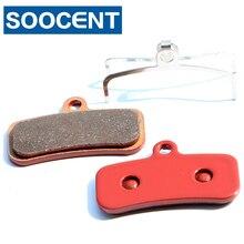 4 Pairs Red Sintered Bicycle Brake Pads for Shimano Saint m810 m820 for Shimano Zee m640 MTB Bike Disc Brake Parts