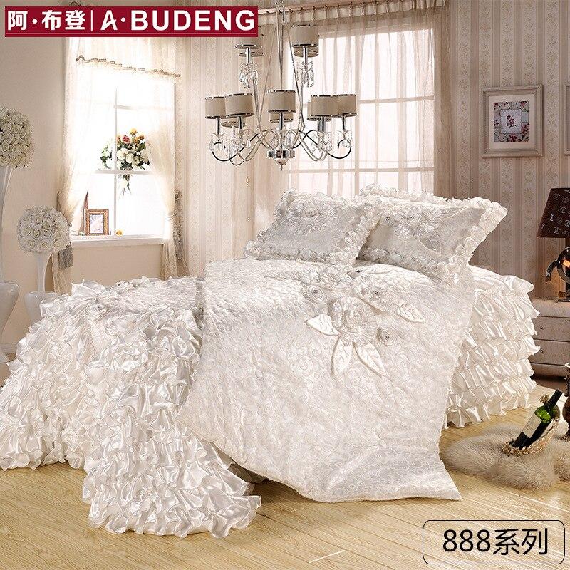 Funda nórdica Queen de 3 piezas, funda nórdica 100% de encaje de fibra de bambú, Ultra suave y de mantenimiento fácil, juego de cama de estilo Simple (Reina, rojo)
