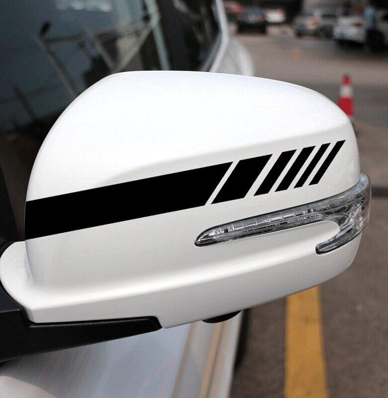 Autocollant de voiture, rétroviseur de décoration pour Kia Rio 3, Picanto, ceato, Cerato Sportage K2 K3, K5 Soul